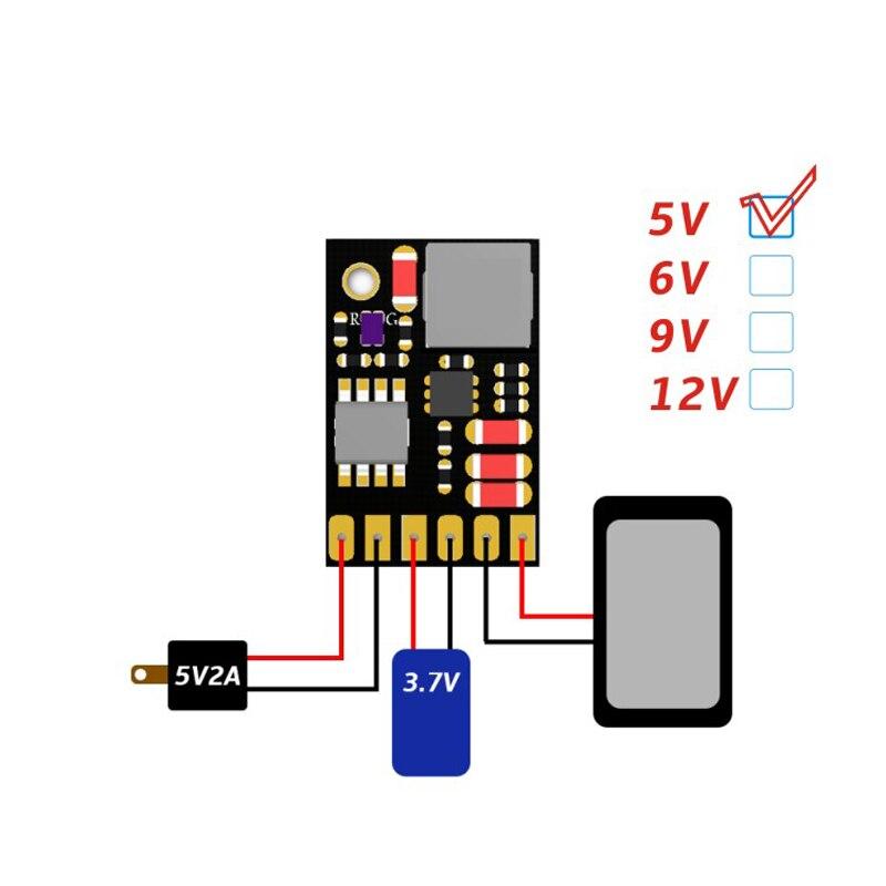 UPS Power Diy Board Charger & Step-up DC  Converter 2in1 Charge Discharger Boost Modules 5V 6V 9V 12V Output