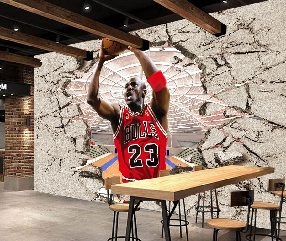 8D Large Papel Mural Wall Decoration Basketball Sports 3d Wall Mural Sone Wallpaper 3D Wall paper Photo Murals for papel de parede large mural water drop 3d wall photo murals wallpaper for sofa background 3d murals wall paper 3d wall mural