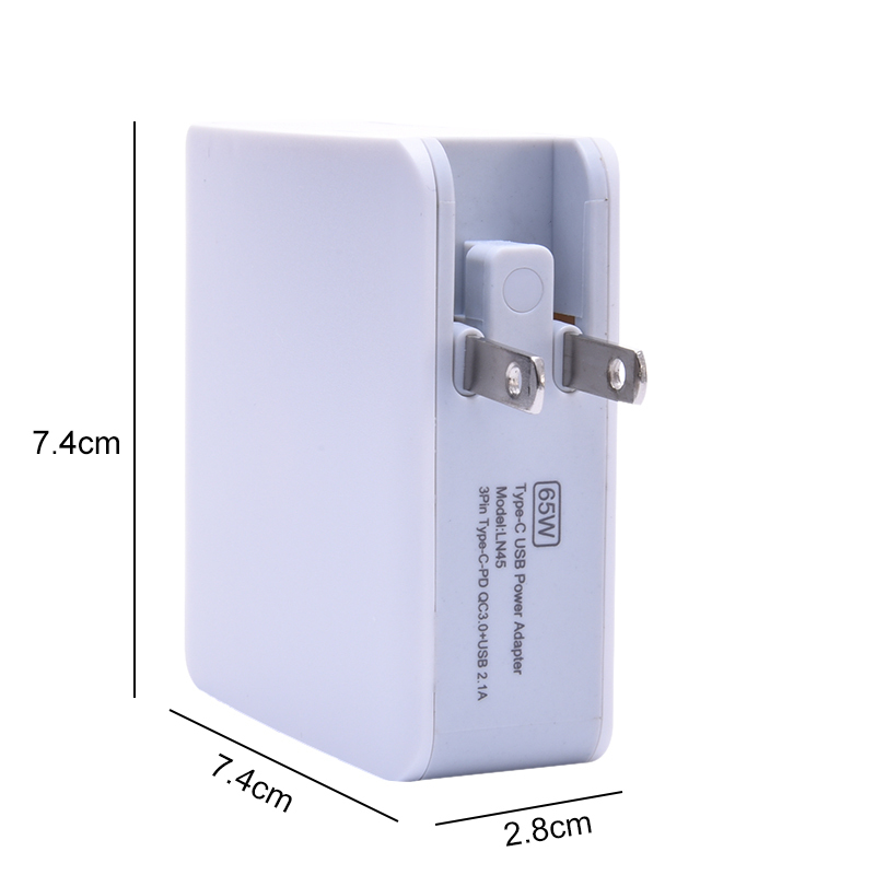 Universal Multi-port Power Adapter For iphone7 Apple Computer PD Type-C Fast Charging EU US UK QC3.0 Mobile Phone USB Charger