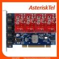 TDM400P -  Asterisk card with 4 FXS/FXO ports,Quad Span Analog Card digium FXO tdm410p tdm400