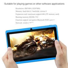 WIFI 7 inch TFT Screen Baby Learning Machine Tablet ARM Cort