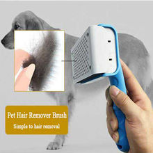 Pet Hair Comb Dog Grooming Brush Hair Remover For Medium Large Dogs Brush Pets Clipper Comb For Cat Grooming Tools Trimmers pet hair deshedding dog cat brush comb sticky hair gloves hair fur cleaning for sofa bed clothe pets dogs cats cleaning tools