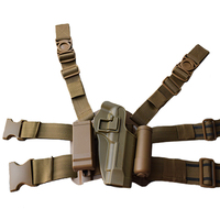 Beretta M9 92 96 Pistol Gun Holsters Tactical Hunting Quick Drop Leg Holster With Magazine Pouch