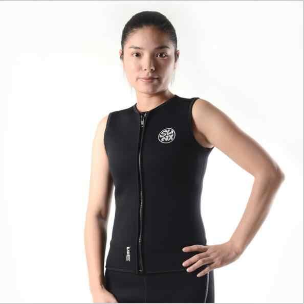 7f42382edb ... Slinx 3mm Neoprene Wetsuit Vest Men and Women For Kitesurfing Suit  Diving Swimsuit Swimwear None Sleeve