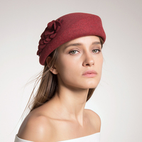 Lady Beret Hats For Autumn Winter Women French Artist Flat Cap 2017 New Unique Design Elegant