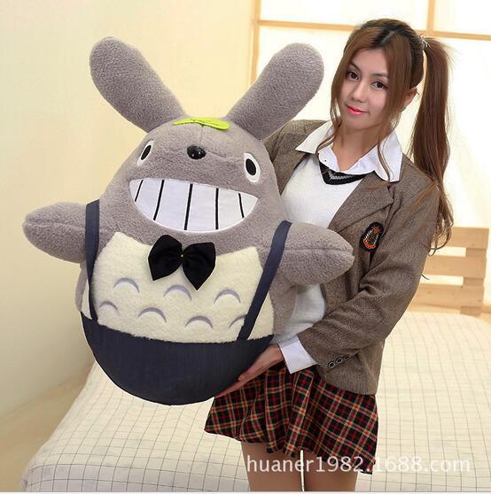 70cm Cartoon cute Hayao Miyazaki Totoro doll Belt Totoro plush toys kids toys free shipping 35cm soft plush toy doll cute totoro hayao miyazaki large pillow cushions cartoon doll birthday gift