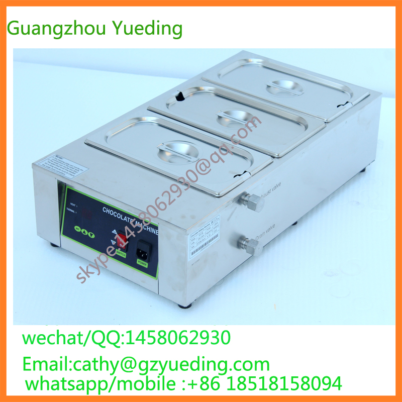 commercial chocolate melting machine chocolate melter tank chocolate box chocolate warmmer for sale fast shipping food machine digital chocolate melting machine stainless steel chocolate machine household and commercial