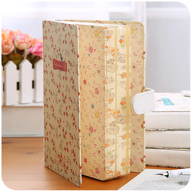 The New Sub-Notebook Creative Small Fresh Retro Art Paper School Notebook Office stationery