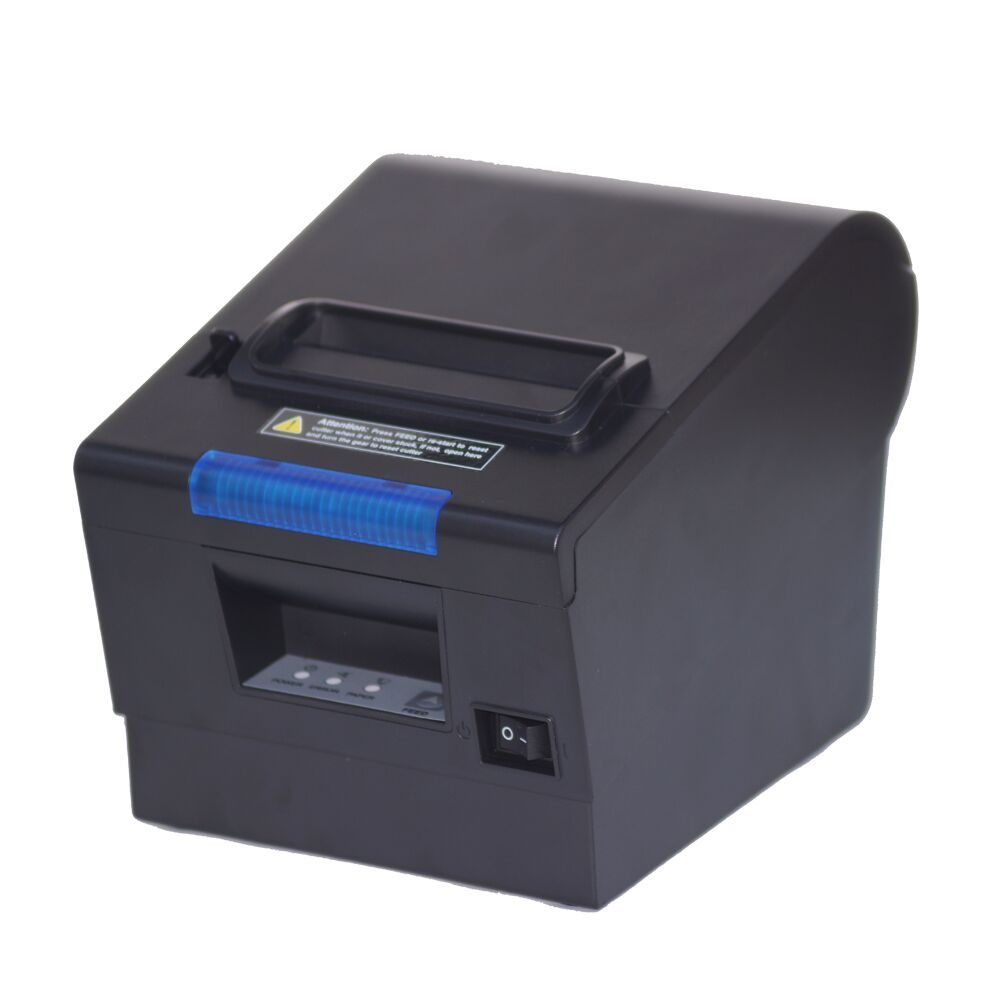 Most popular 80mm pos thermal printer receipt printer with USB+LAN+RS32 POS Printer 80mm pos receipt printer with bluetooth wifi