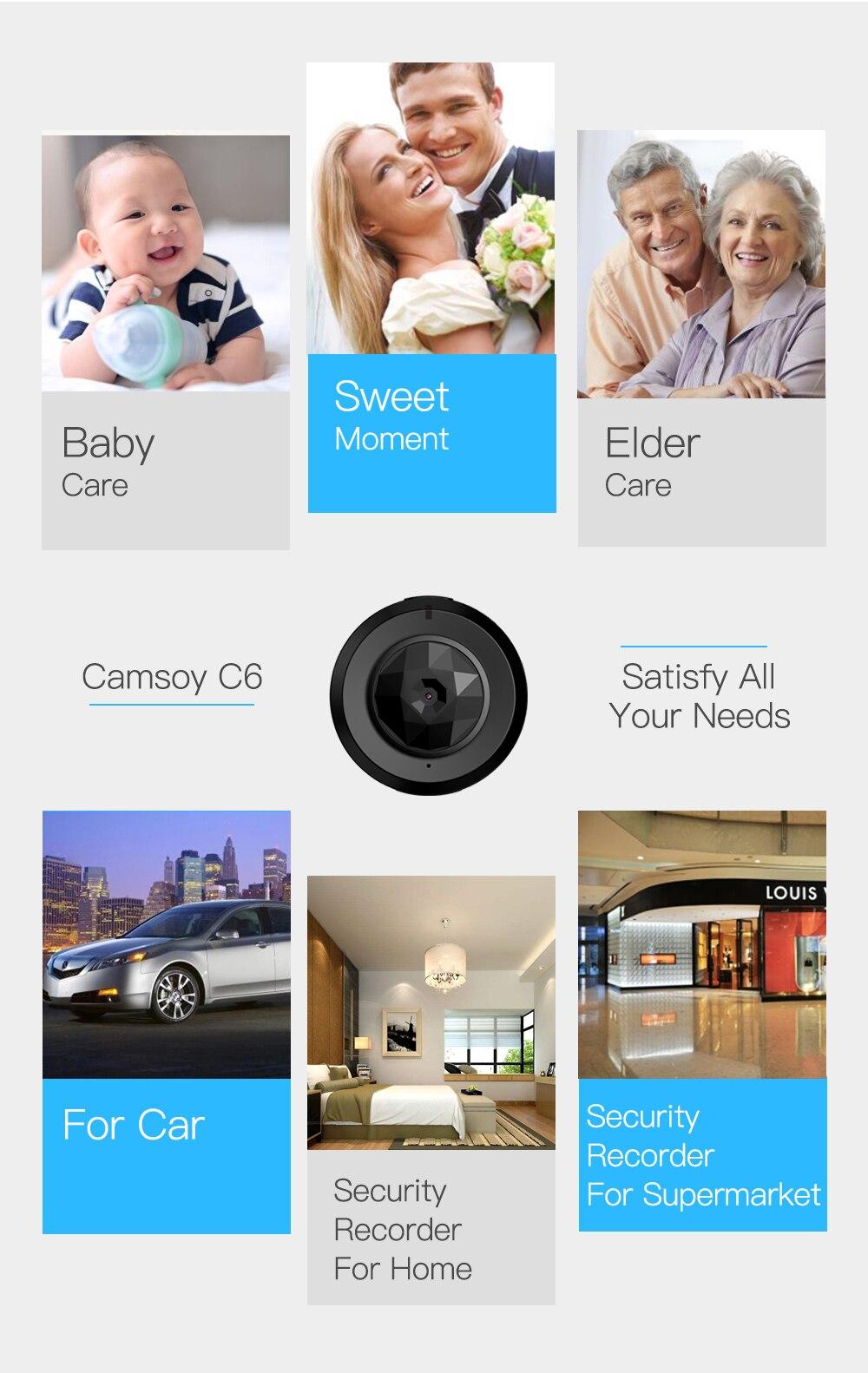 visão noturna ip câmera de vídeo de segurança em casa filmadora