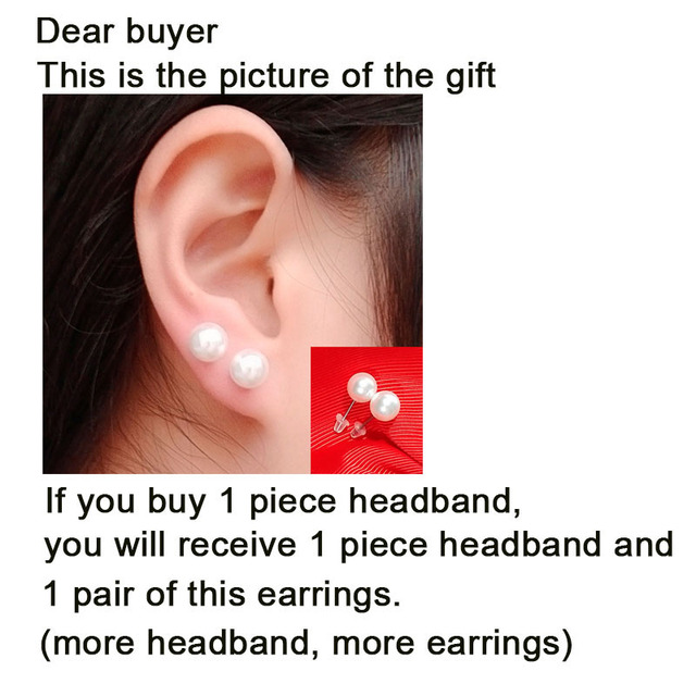 Hair Band With FREE Pair of Earring