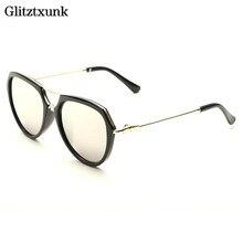 Glitztxunk Clássico Kid Óculos de Sol Crianças Coloridos Reflexivos óculos  de Aviação Óculos Acessórios Óculos de Marca Designer. a875c88336