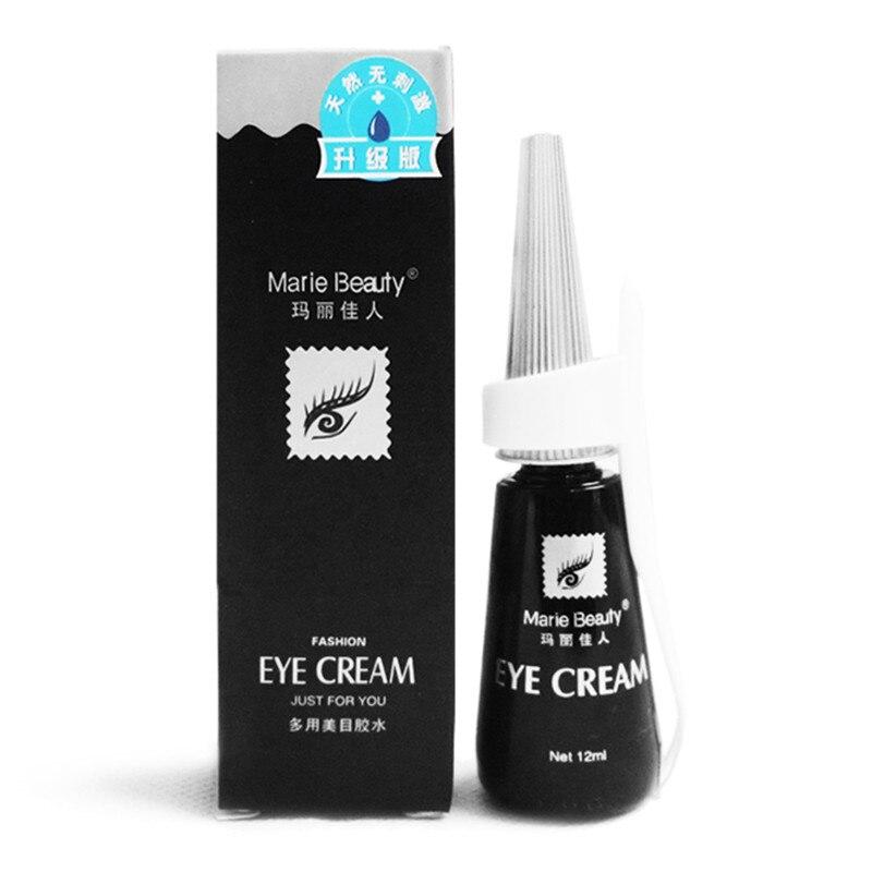 High Quality Fashion 12ml Lash Glue Eyelash Black Adhesive Eyelash Glue Waterproof False Eyelash Accessories 208CS