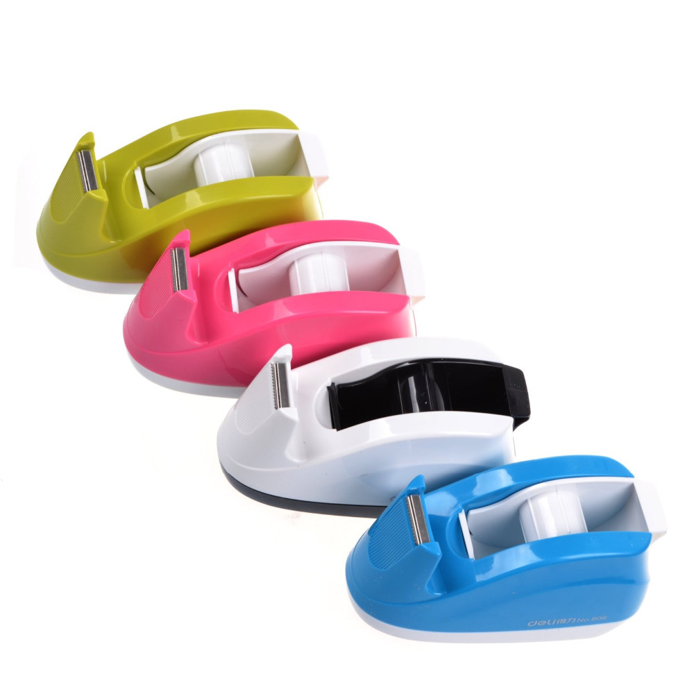 Heavy Duty Tape Dispenser Weighted Base Nonskid Pad For One Hand Dispensing Color Random 808 In From Office School Supplies On
