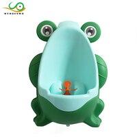 MYHOESWDกบรูปร่างตลกของเล่นสำหรับเด็กทารกการฝึกเข้าห้องน้ำห้องน้ำของ