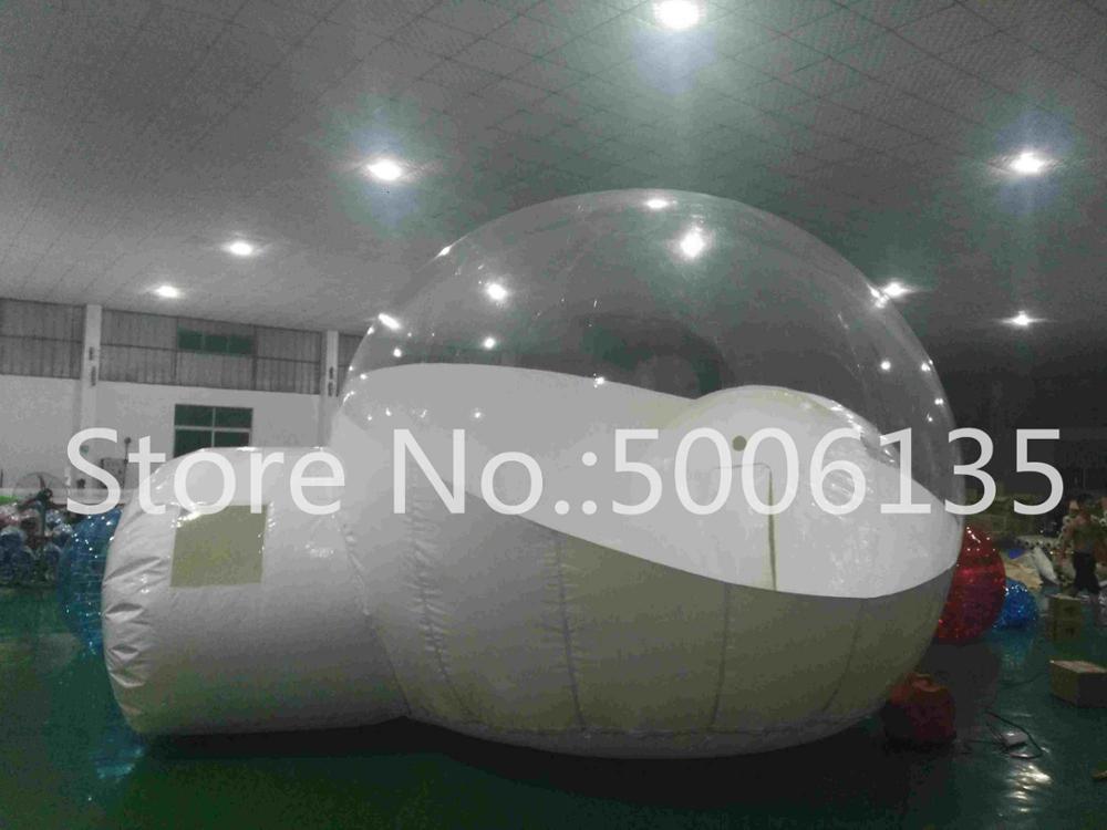Чистый надувной пузырь палатка с туннелем для продажи китайский производитель, надувные палатки для торговых шоу, надувной сад палатка - Цвет: two rooms