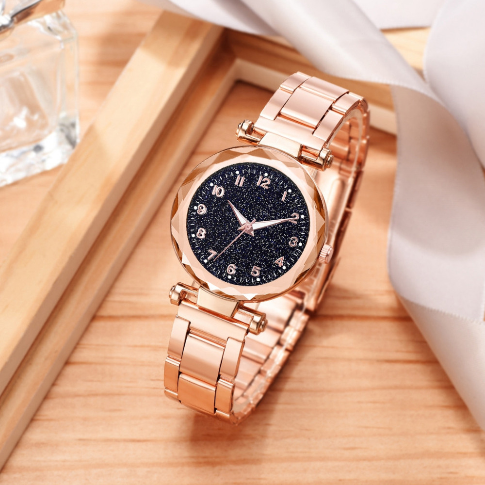 Luxury Starry Sky Watch Women Watch Exquisite Small Dial Bracelet Watches Ladies Quartz Wristwatch Fashion Gift Clock Relogio #W