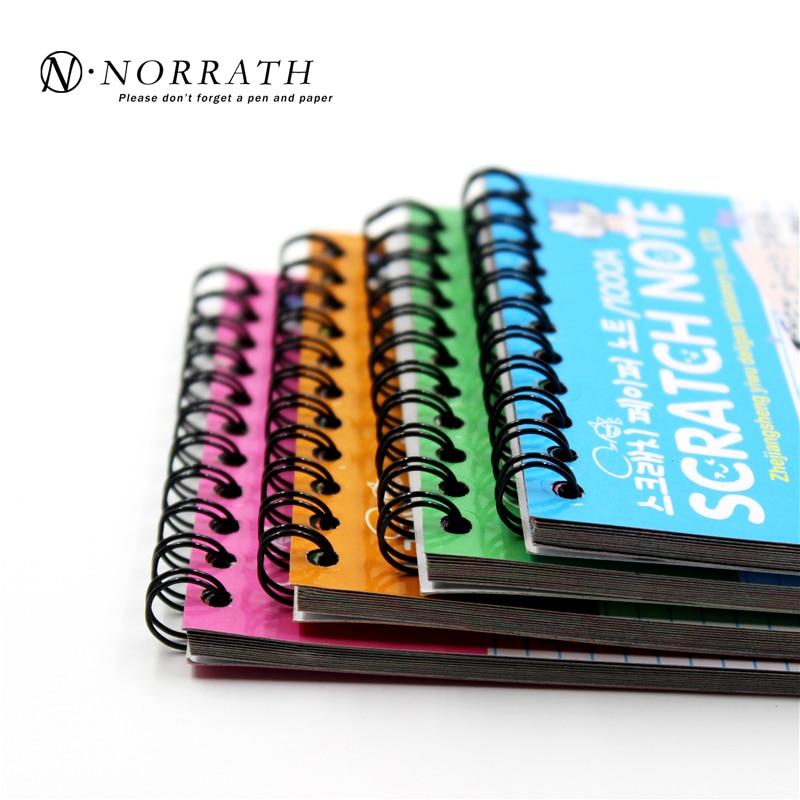 Creative DIY Scratch Note Қара картон Балалар - Блокноттар мен жазу кітапшалары - фото 5
