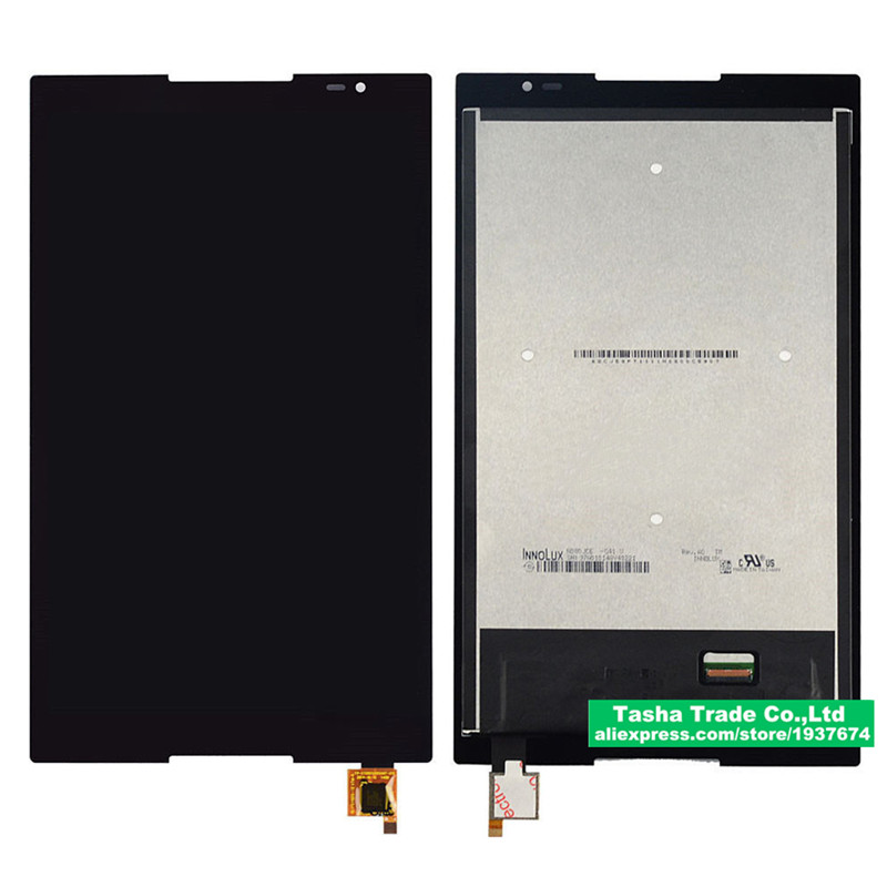 For Lenovo Tab S8-50 S8-50F S8-50L S8-50LC Touch Screen Panel Digitizer Glass LCD Display Assembly without frame Replacement for lenovo miix 2 8 tablet pc lcd display touch screen digitizer replacement with frame