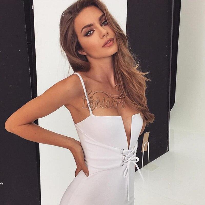 Serré Parti bas Dentelle Profonde Kaki 2017 blanc rouge D'été Col Bar Femmes Robe V Coupe Sling Sexy Discothèque Bandage Up 4qA8wxvaq