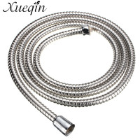 Xueqin Stainless Steel Shower Head Hose Pipe 2m Long Standard Chrome Flexible Bathroom Bathroom Tool