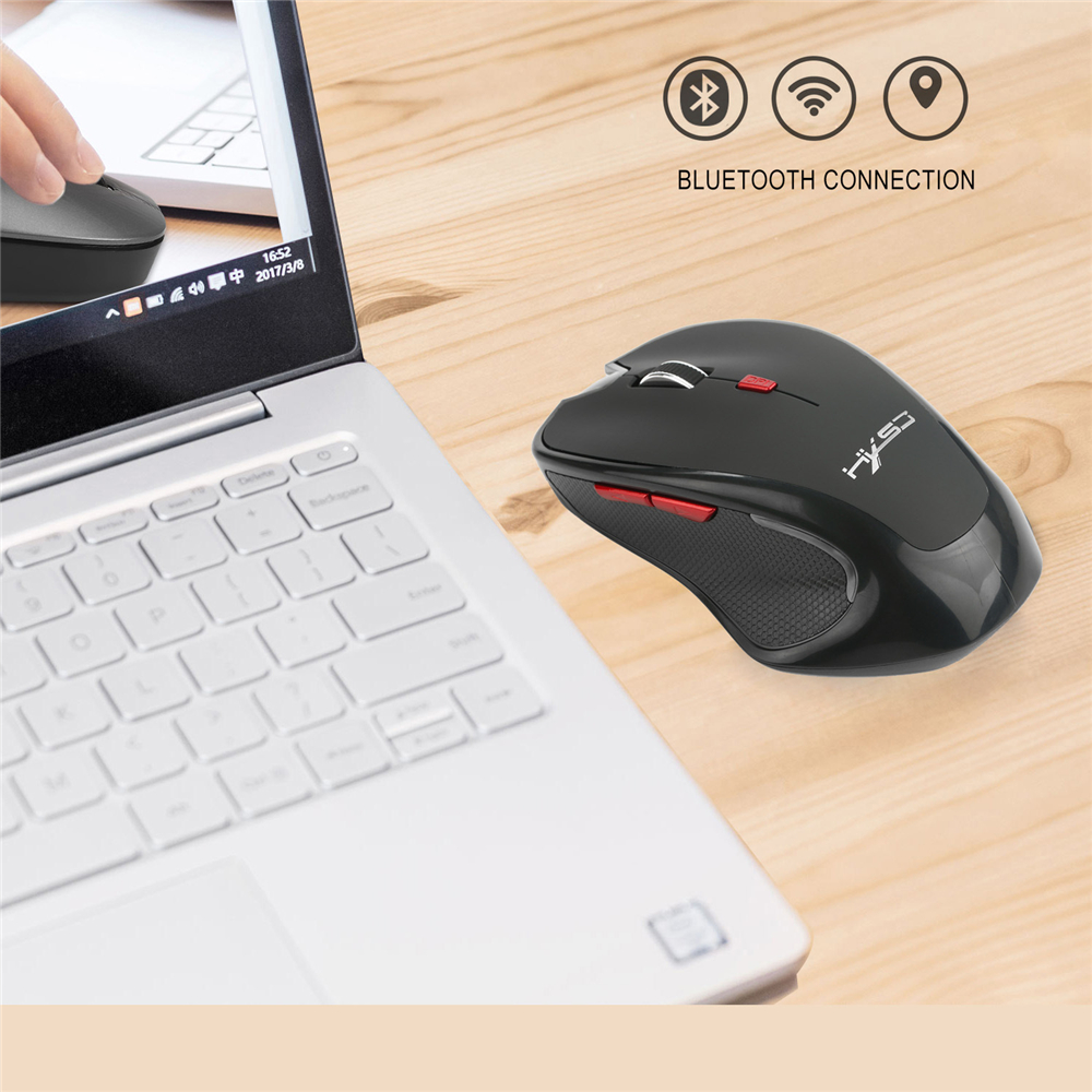 2400DPI Optical Wireless Mouse Bluetooth 3.0 Mini 6 Keys Gaming Mouse Mice (13)
