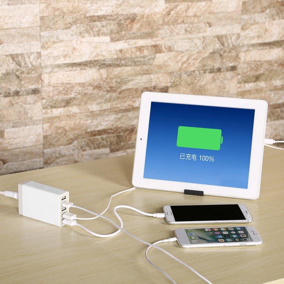 5PCS  Charging Smartphone Charge Socket AU Plug 5V 8A 5 Ports USB Charger Adapter5PCS  Charging Smartphone Charge Socket AU Plug 5V 8A 5 Ports USB Charger Adapter