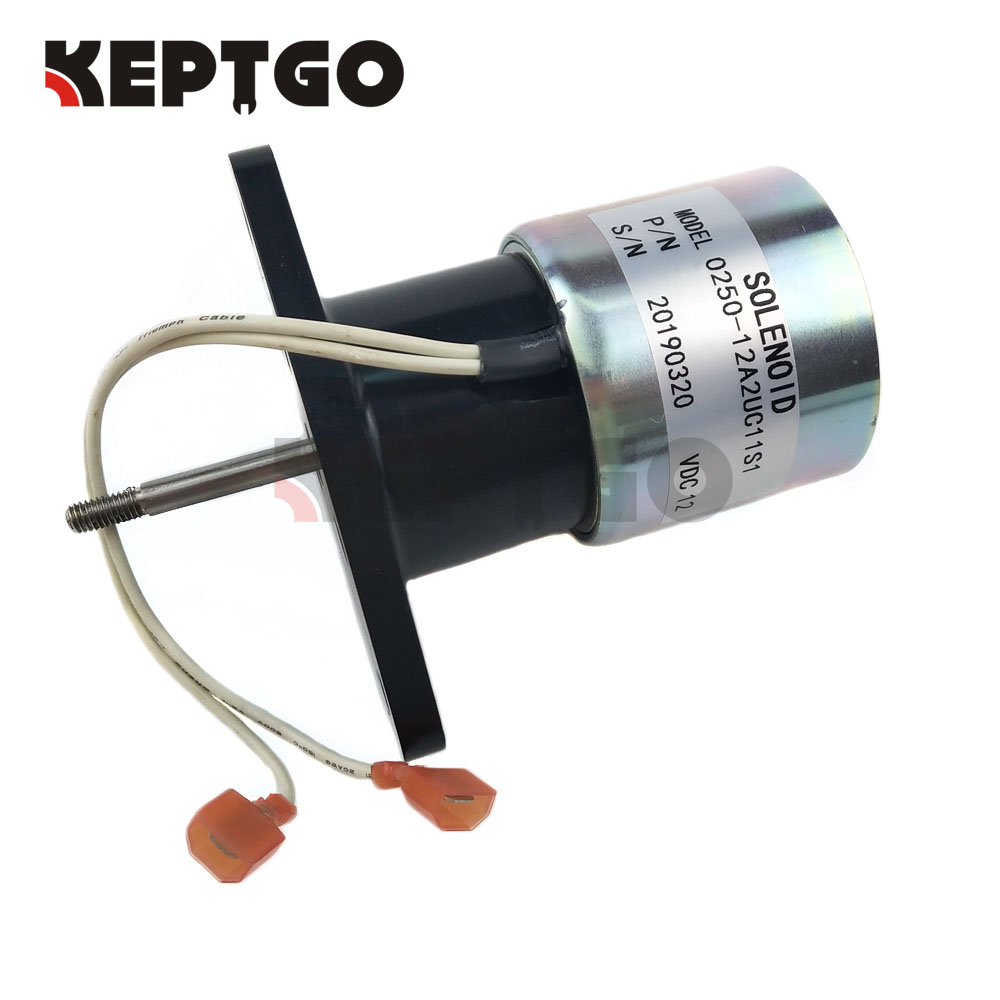 12V Shutoff Stop Solenoid Valve 0250-12A2UC11S1 025012A2UC11S1 For Woodward12V Shutoff Stop Solenoid Valve 0250-12A2UC11S1 025012A2UC11S1 For Woodward