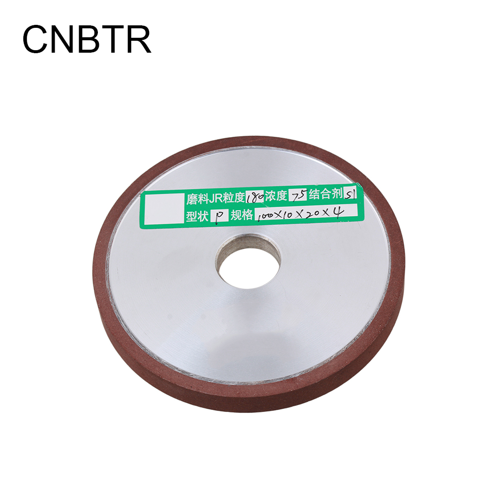 CNBTR 180# 100 x 10mm Diamond Grinding Wheel Processing Saw Blade Cutter Grinder 100mm
