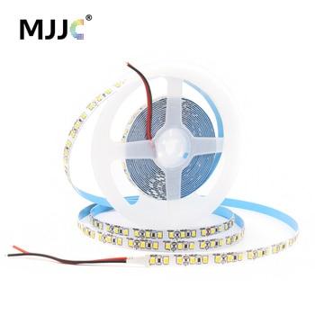 цена на LED Strip 12V DC 1M 2M 3M 4M 5M SMD 2835 120LEDs 240LEDs Tira LED 12V Flexible Tape Ribbon Light 3000K Warm White LED Strips