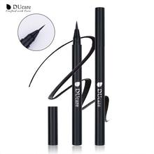 DUcare Eyeliner Liquid Pencil Waterproof Black Smooth Eye Liner Pen Long-lasting Dry Fast Beauty Essential Makeup Tools