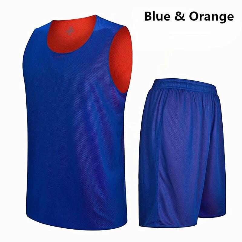 Men Basketball Jersey Sets Sports Clothing Breathable Basketball Jerseys