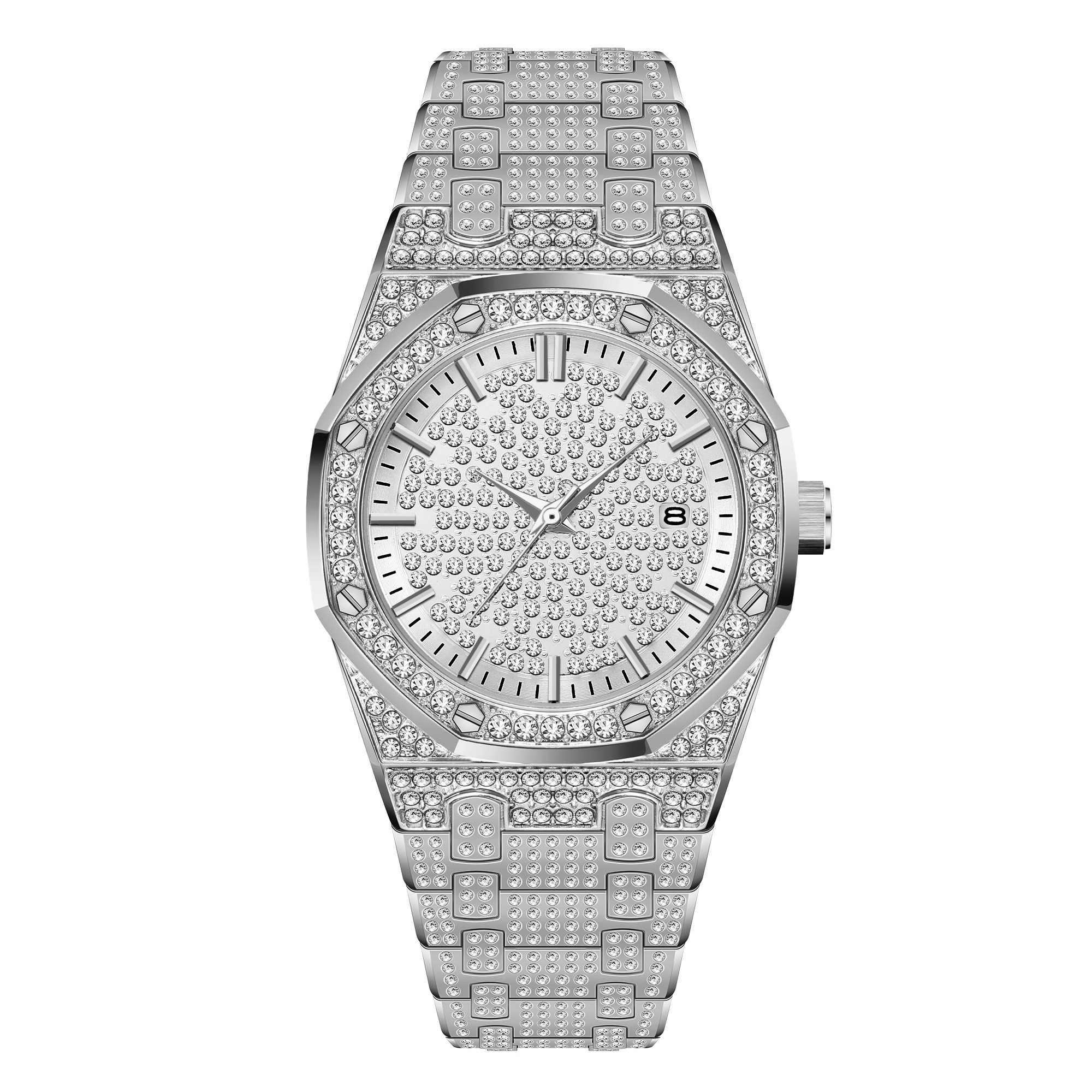 50a74e98eb93 MISSFOX de reloj de plata de las mujeres vestido Casual señoras reloj de  moda de acero
