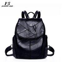 Женский рюкзак из натуральной кожи женский 2018 модный хит продаж школьные сумки для подростков Модные рюкзаки для девочек подростков