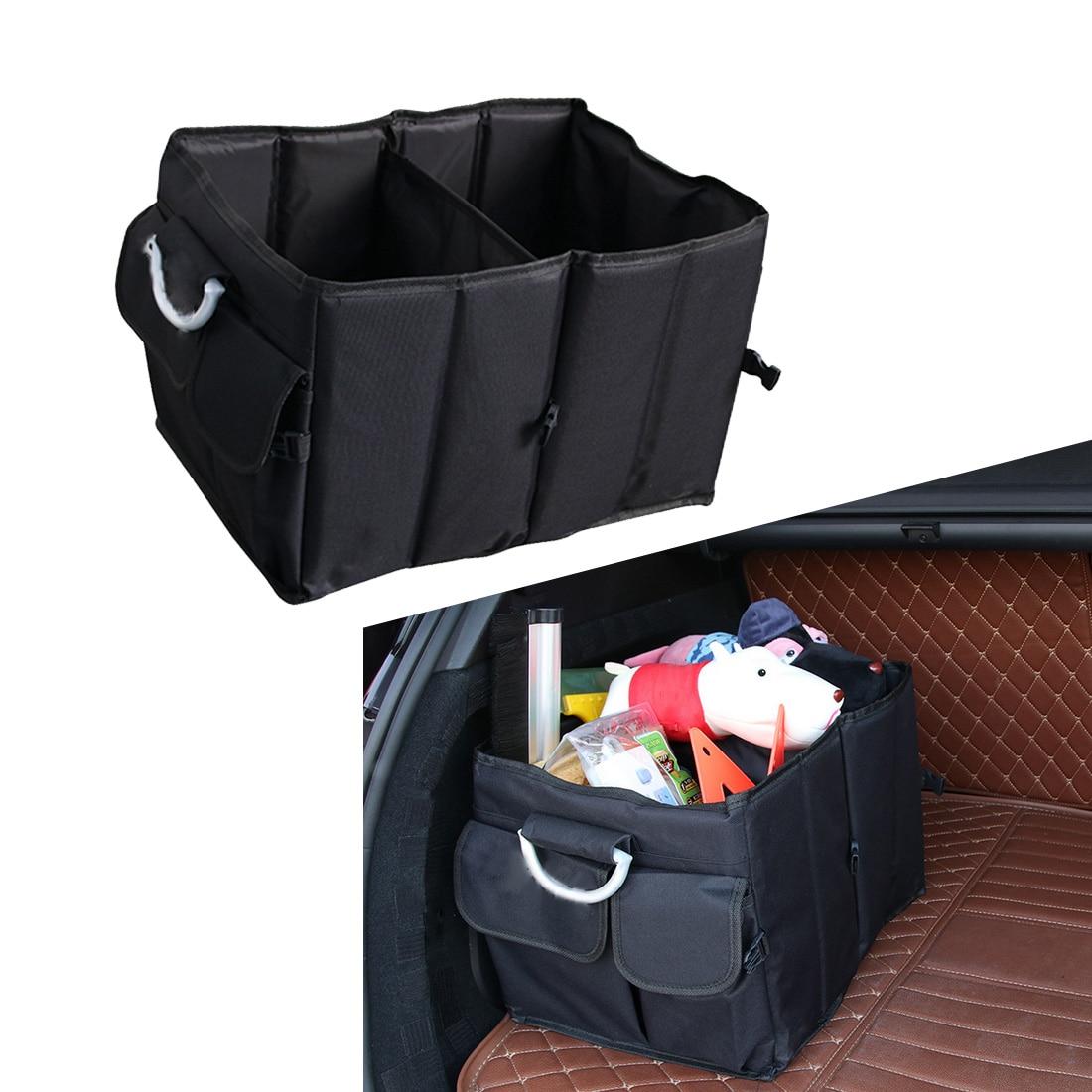 Disney Collapsible Storage Trunk Toy Box Organizer Chest: Dongzhen 1X Car Storage Box Trunk Organizer Toys Food
