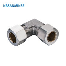 10Pcs/lot KV Pneumatic Compression Connector Coupling Brass Fitting Tube Fittings Air Parts High Quality Sanmin