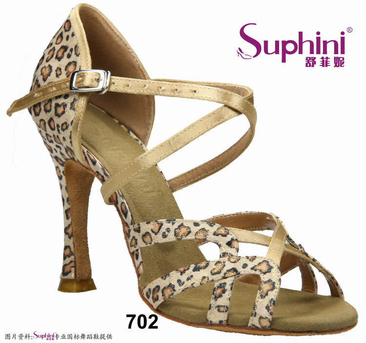 FREE SHIPPING Suphini Bravo Leopard Woman Latin Dance Shoes Different colors Comfortable Latin Salsa Dance Shoes