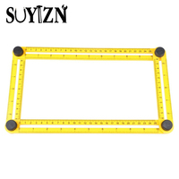 SUYIZN Angle Template Tool Measure All Angles And Shapes Ruler For Measuring Angles For Handymen Or