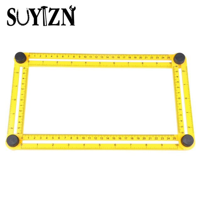 Angleizer Template Tool Measure All Angles And Shapes Ruler For Measuring Handymen Or Builders