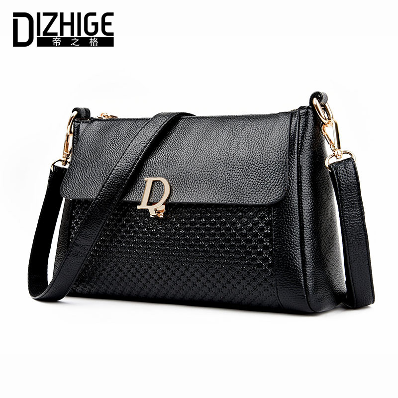 DIZHIGE Brand 2017 Casual Spring Summer Crossbody Bags Small PU Leather Women Shoulder Bag Designer Handbags Ladies Hand Bag New feral cat women small shell bag pvc zipper single shoulder bag luxury quality ladies hand bags girls designer crossbody bag tas