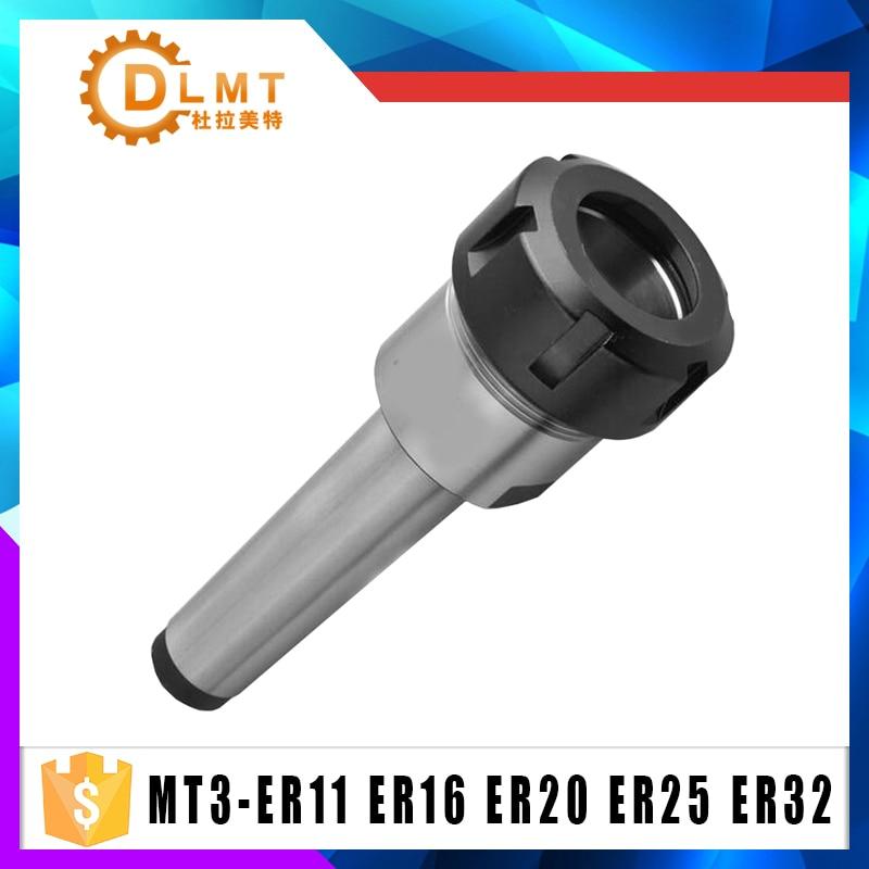 ER32 ER25 ER20 ER16 ER11 MTA3 MT3 Shank M12 Drawbar Milling Chuck Holder Fixed CNC Milling Lathe chuck cylinder shank er mtb rear taper shank pull out extension rod mt3 er32 m12 take wrench
