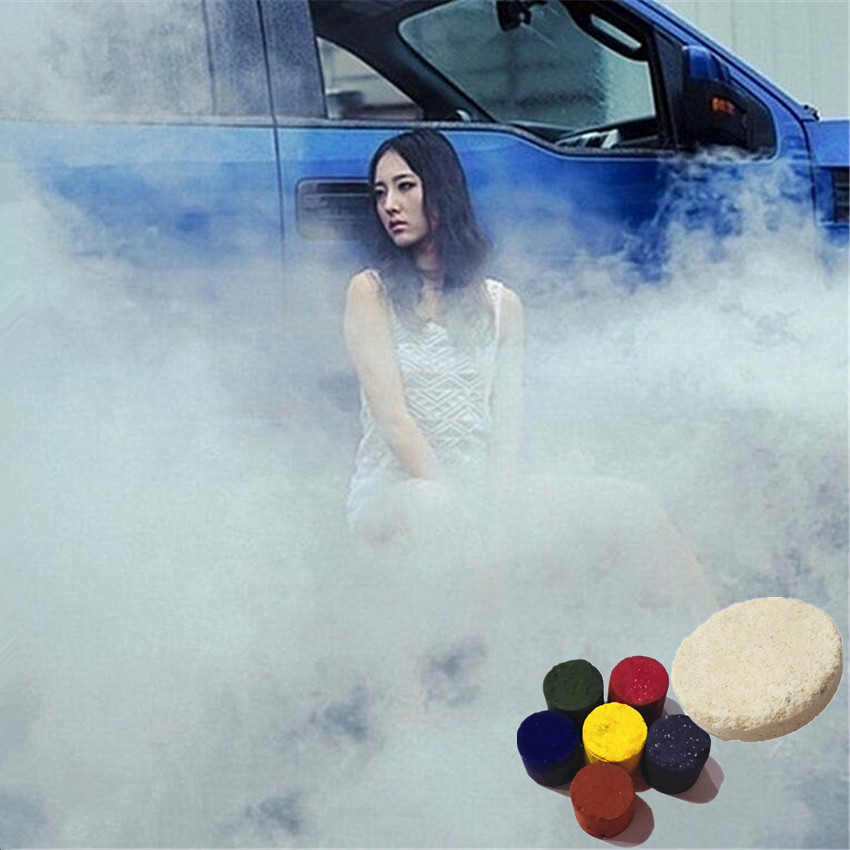 1PCS New Studio Photography Props Outdoor Games Tobacco Cigarettes Maker Smoke Cake Toy