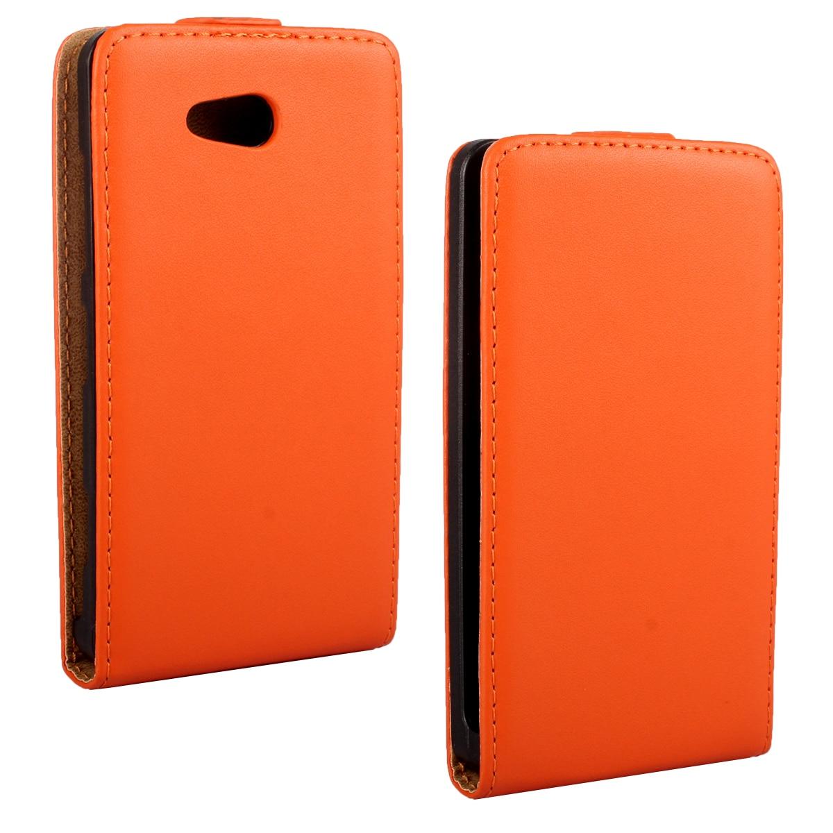 Caso de cuero del tirón vertical para nokia lumia 820 shell bolsa de teléfono mó