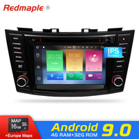 Android 9.0 Car Radio GPS Player For Suzuki Swift 2012 2013 2014 2015 2016 Auto DVD Navigation Multimedia Bluetooth Video Stereo