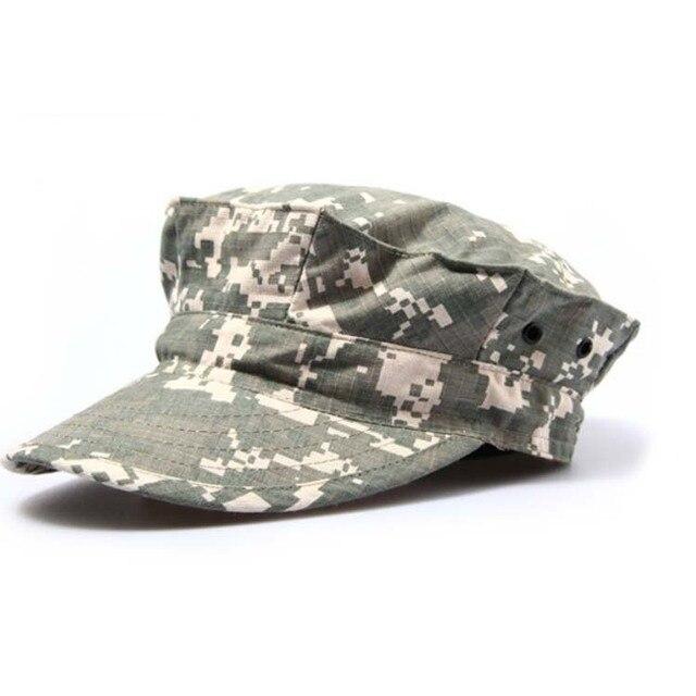 bb20d45d99c Men s Military Hats Tactical Summer beach cap Sports Military Patrol Cap  Adjustable Baseball Hat