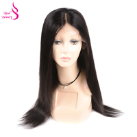 Straight Lace Front Wig Pre Plucked With Baby Hair 150% Density Lace Front Human Hair Wigs Honey Remy Real Beauty Hair
