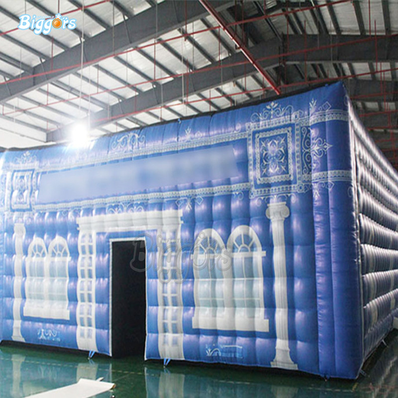 Inflatable party tent inflatable customize printing tent inflatable beautiful tent with blowers