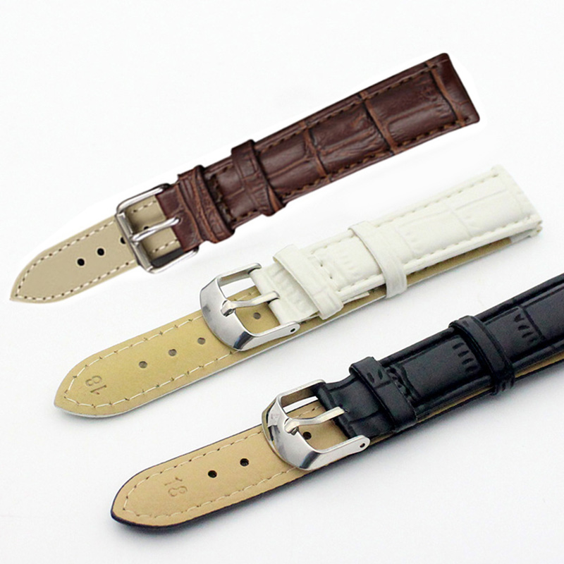 New Leisure Durable Fashion 18/20mm Croco Grain Style PU Leather Watch Band Strap LXH lucky john croco spoon big game mission 24гр 004