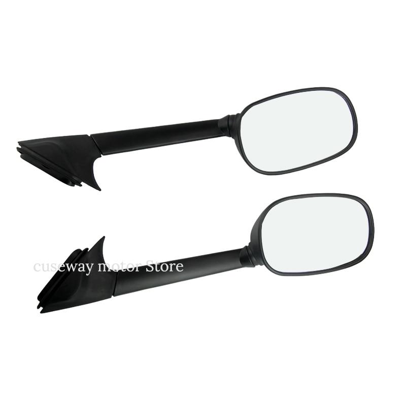 pair Black Mirror For Yamaha T MAX 500 Long Rear View Side Mirrors XP 500 TMAX
