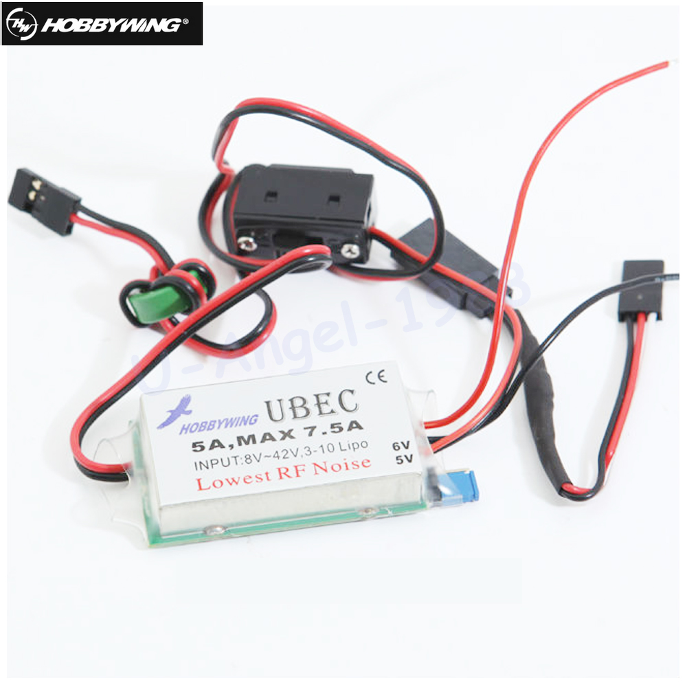 все цены на 1pcs Original Hobbywing UBEC 5A HV Switch-Mode UBEC High Voltage онлайн